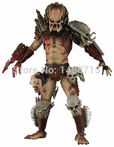 NECA Bad Blood Predator 18CM Action Figure Toys Classic Sci-Fi Film Alien Hunter Predators Series Original (Predator Costumes For Kids)