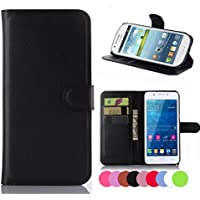 ZTE Grand X Max, X Max+ Case, Ebest Premium Folio Wallet Stand PU Leather Case with cash/card holder case for ZTE Grand X Max Z787, X Max+ Max Plus Z987, Black