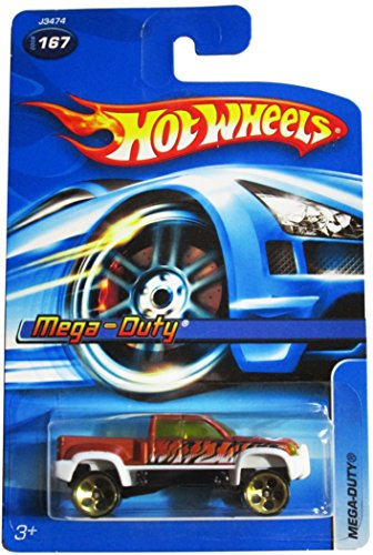 #2006-167 Mega-Duty 5-Spoke Construction Wheels Collectible Collector Car Mattel Hot Wheels 1:64 Scale - 1