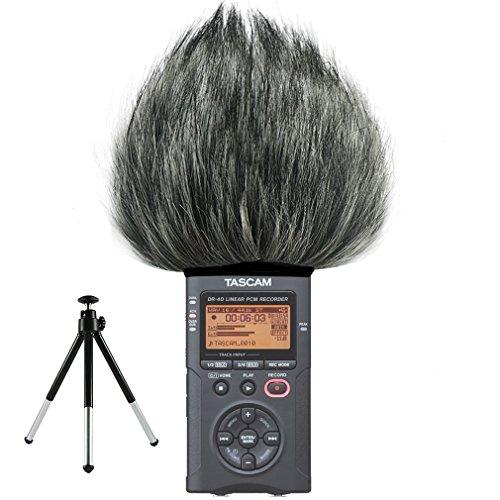 first2savvv-tm-dr-40-b01g6-microfono-externo-peludo-parabrisas-manguito-para-grabadores-digitales-pa