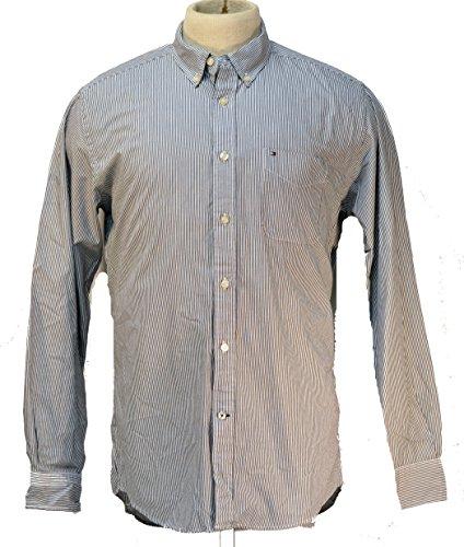 Tommy Hilfiger Fitzgerald Striped Mens Button Down Shirt