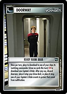 Star Trek Ccg 1e Voyager Ready Room Door 31u