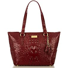 Medium Asher Tote<br>Carmine Red Melbourne