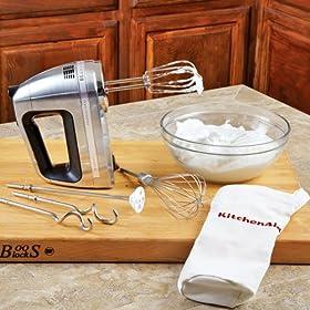 KitchenAid Architect Series 9-speed Digital Hand Mixer, KHM920BD