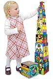 Melissa & Doug Alphabet Nesting/Stacking Blocks 10 Piece