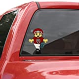 Indiana Hoosiers Mascot Window Cling at Amazon.com