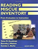 img - for Reading Miscue Inventory: From Evaluation To Instruction book / textbook / text book