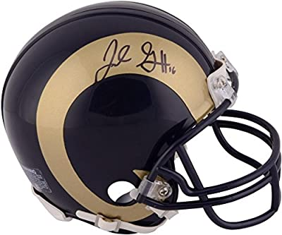 Jared Goff Los Angeles Rams Autographed Riddell Mini Helmet - Fanatics Authentic Certified - Autographed NFL Mini Helmets