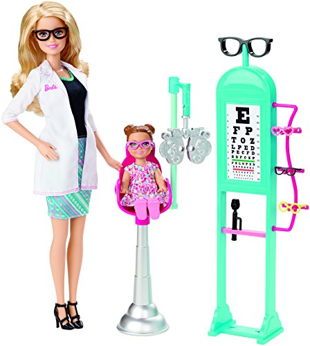 Barbie Careers Eye Doctor Playset (I Can Be Barbie compare prices)