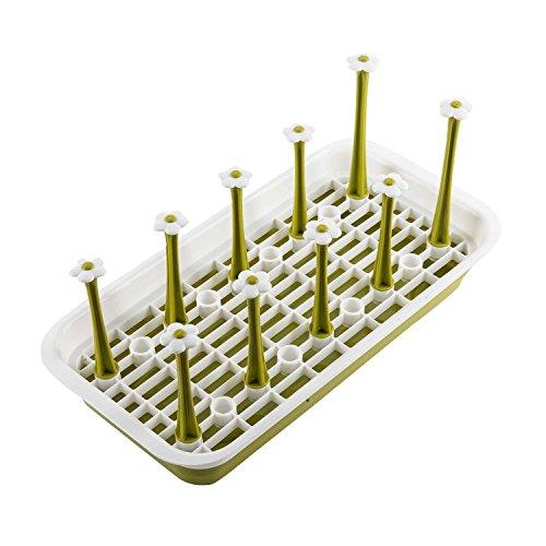 dish-bottle-drying-rack-stand-starworld-plastic-rectangular-11-pieces-cup-mug-organizer-drainer-kitc