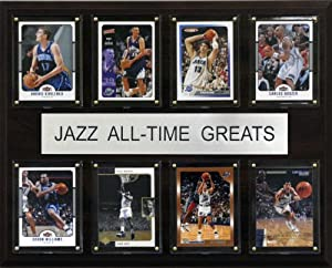 NBA Utah Jazz All-Time Greats Plaque by C&I Collectables