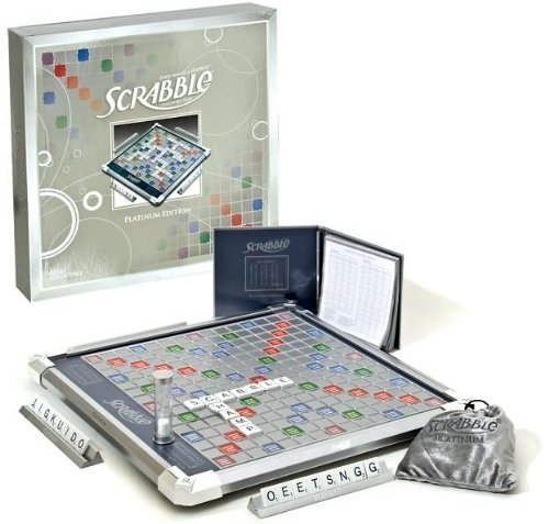 Scrabble Platinum Edition with Rotating Board