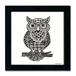 Owl Pen & Ink