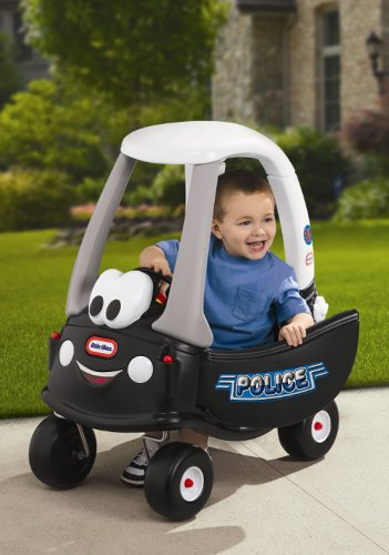kids police car to ride