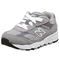 New Balance 993 Lace-Up Running Shoe (Infant/Toddler),Grey-GR,10 W Toddler