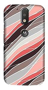 Meet Arts motoG4_Rd924 Back Cover for Motorola G4 Plus