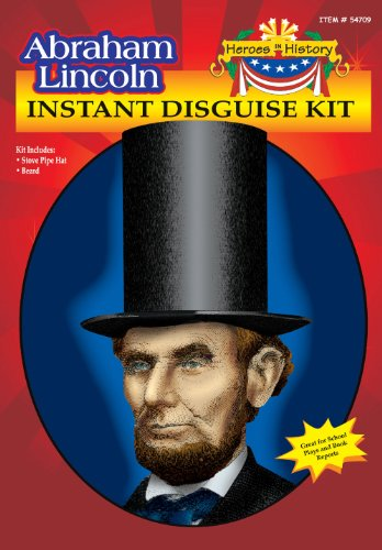 Abe Lincoln Hat & Beard Kit 54709
