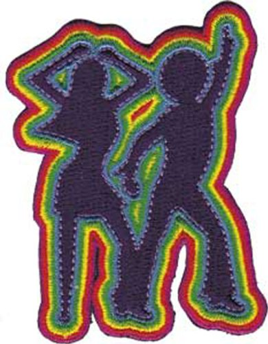 Application Disco Dancers Patch