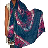 Handmade Scarf Cotton Summer Wear for Women Clothing Accessory from India 92 x 213 cmsby DakshCraft