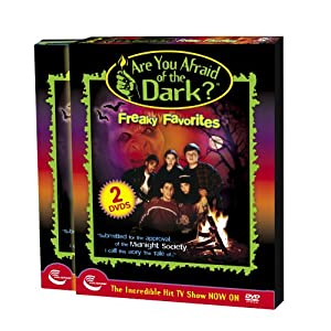 Are You Afraid of the Dark? - Freaky Favorites -  REGION 1 DVD ( 2 Disk Set ) movie
