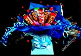 Sweety candy trees ~ Nestle Assortment Chocolate Bouquet ~ Personalised ~ Delivered in Patterned Gift Box