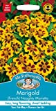 Mr Fothergills - Pictorial Packet - Flower - Marigold (French) Naughty Marietta - 90 Seeds