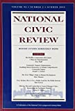 img - for National Civic Review, No. 1, Summer 2003 (J-B NCR Single Issue National Civic Review) (Volume 92) book / textbook / text book