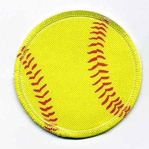 Amazon.com : Softball Patch : Sports Fan Bumper Stickers : Sports