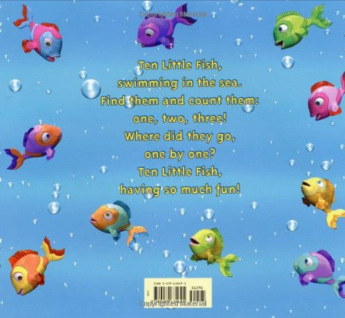 Ten little fish audrey wood blue sky press 37584th for Little fish song