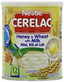 Nestle Cerelac From 12 Months Honey and Wheat with Milk 400 g (Pack of 4)