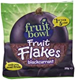 Fruit Bowl Fruit Flakes Blackcurrant 20 g (Pack of 24)