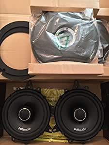 Polk Audio DXi650 High Performance 6.5 Inch Coaxial Speakers (Pair, Black)