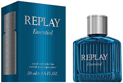 Replay, Essential, Eau de Toilette da uomo, 50 ml