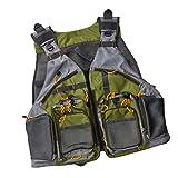 My Vision フィッシング ベスト 防水 通気性 メッシュ 大容量 ポケット サイドベルト 調整可能 釣り 海 川 浮き MV-BESTVEST