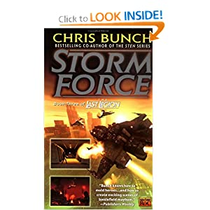 Stormforce: Book Three of the Last Legion by Chris Bunch