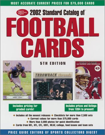 2002 Standard Catalog of Football Cards (Standard Catalog of Football Cards, 2002)