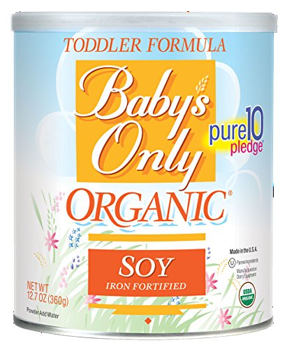 Baby's Only - Organic Soy Toddler Formula Iron Fortified - 12.7 oz. ( Multi-Pack) - 1