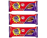 Cadbury's Creme Egg Easter Limited Edition Biscuits 106g (Pack of 3)