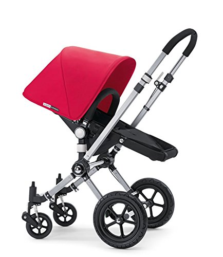 Bugaboo Cameleon Tailored Fabric Set - Coral Red front-127671