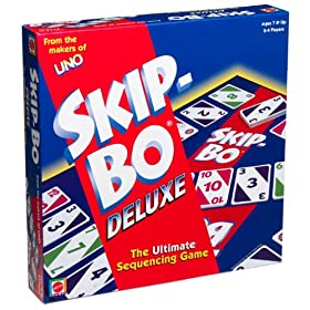 Skip Bo card game!