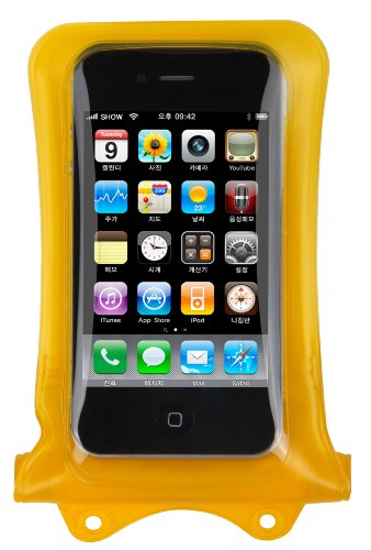 Dicapac WP-i10 Waterproof Case for iPhone 4 or 3G/3GS, (Yellow)