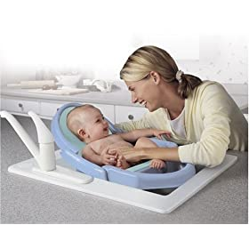 Safety 1st Space Saver Fold Up Tub in Blue