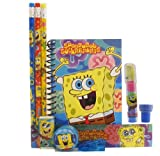 Spongebob Stationery Set - Blue