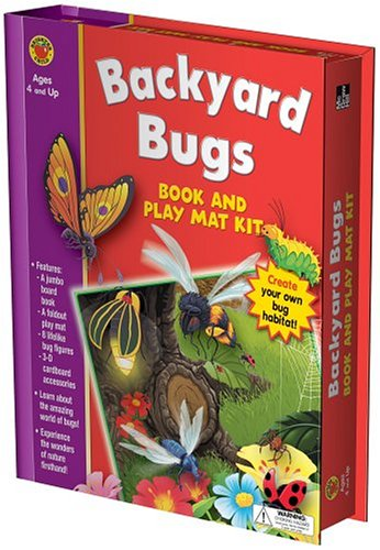 Backyard Bugs (Brighter Child Book and Play Mat Kits)