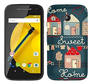WOW Printed Designer Mobile Case Back Cover For Motorola Moto E 2nd Gen E2