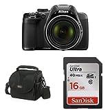Nikon-COOLPIX-P530-Black-+-Free-Accessories
