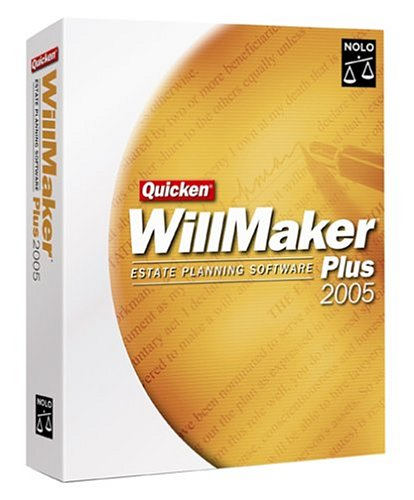 Quicken Willmaker Plus 2005 With Free eBook