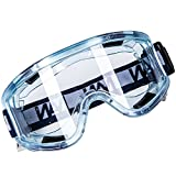 Clear Sport Style Anti-Fog Safety Goggle Splash and Impact Resistant Goggle Sand Eye Protector