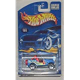 Hot Wheels 2001-194 BLUE Roll Patrol 1:64 Scale