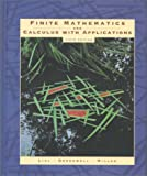 Finite Mathematics and Calculus With Applications (0201436736) by Lial, Margaret L.